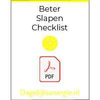 Icon Beter Slapen Checklist