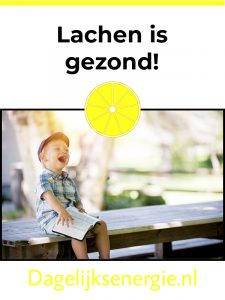 lachen is gezond pinterest