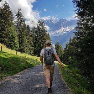 Bergbeklimmen is goede beweging