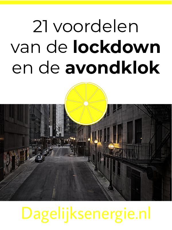 pin blog over lockdown en avondklok op Pinterest